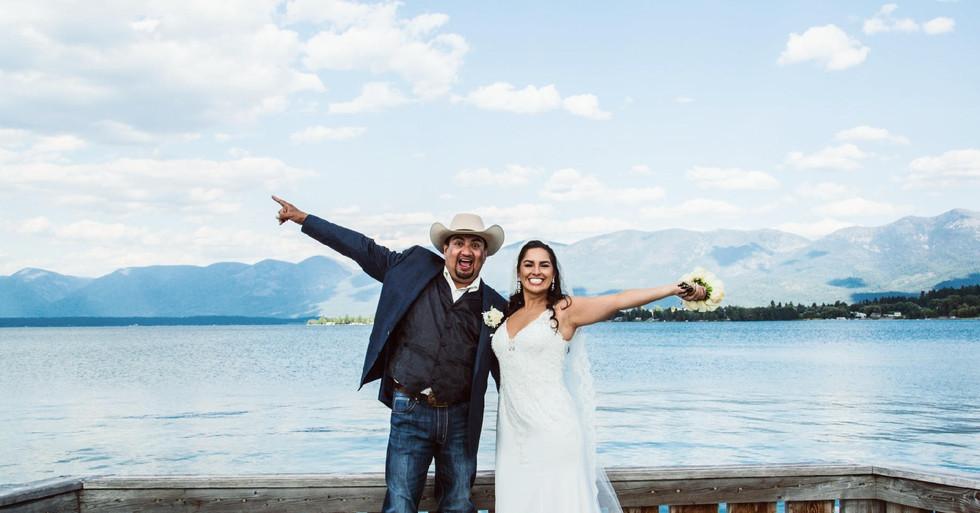 polson montan wedding photographer