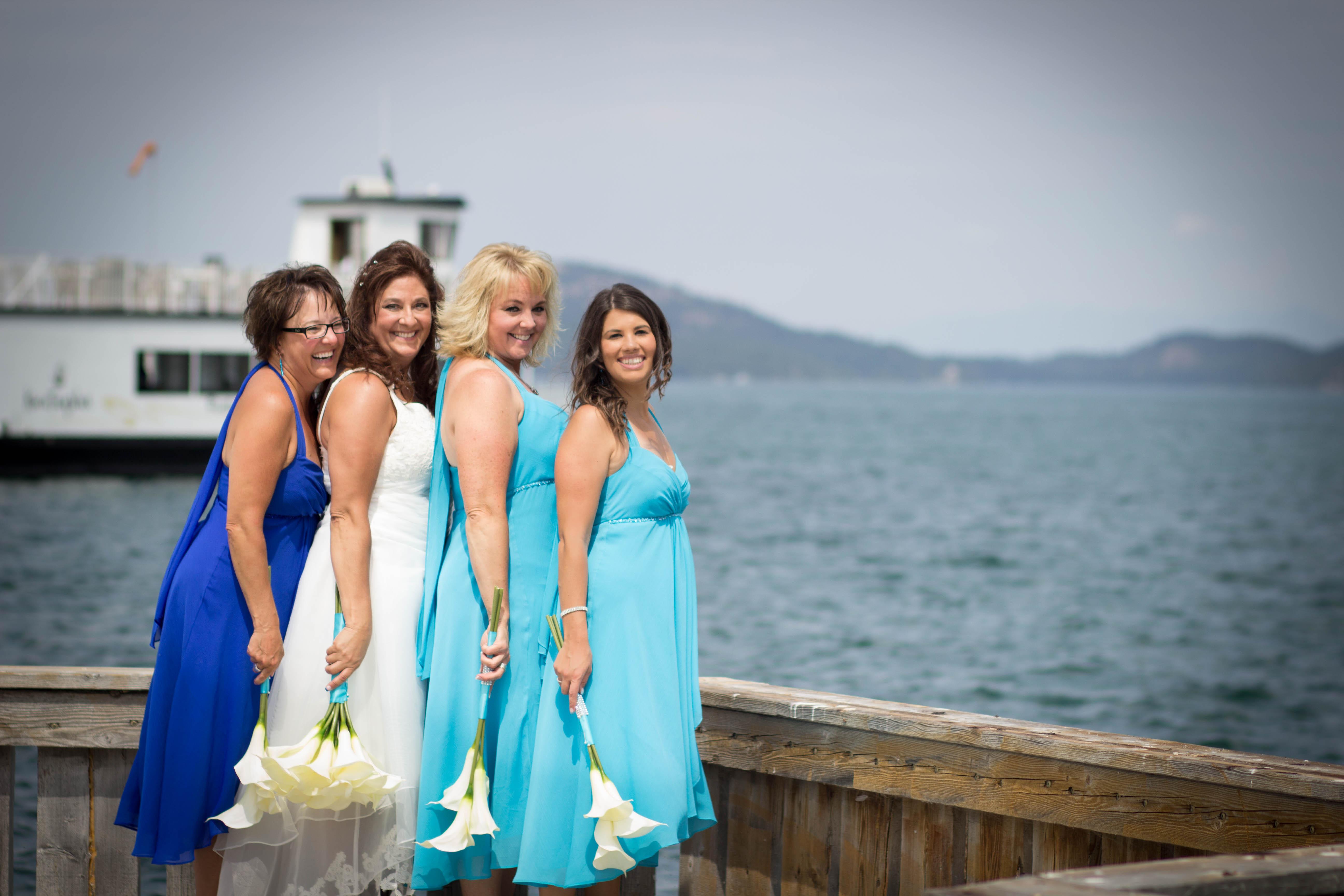 flathead lake wedding