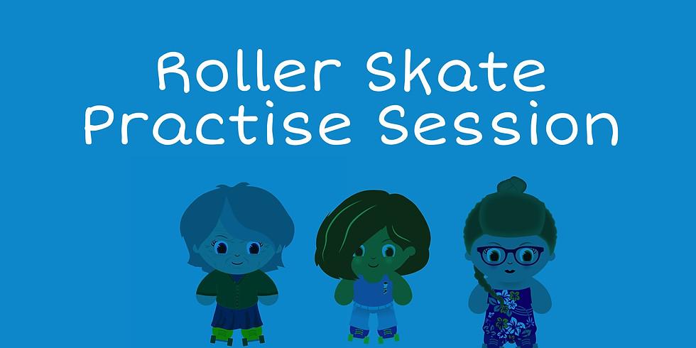 3rd Oct: Roller Skate Practise Session 14+