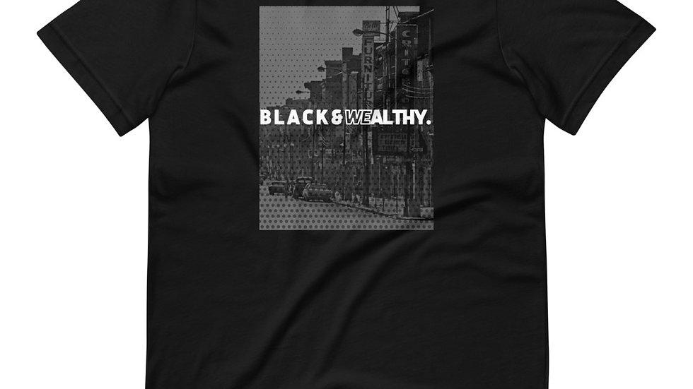 Black & Wealthy Wellston Grove Tee