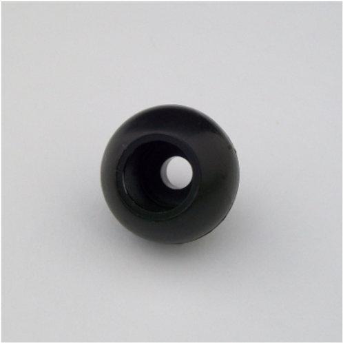 Boule d'arret noir
