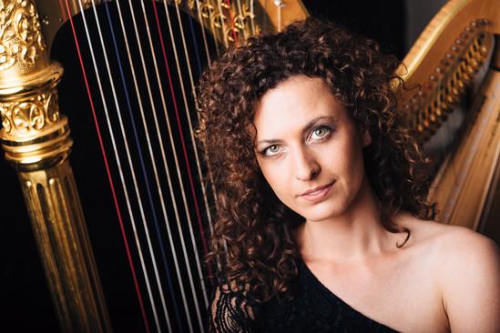 Harfenistin // Hanna Rabe