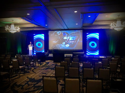 LED at corporate conference