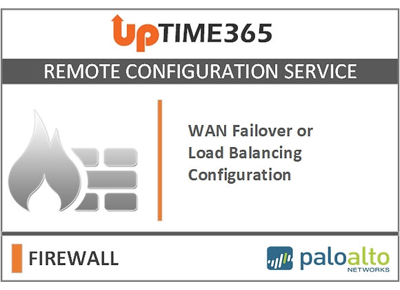 WAN Failover/Load Balancing Configuration  in Palo Alto Firewall Series PA5000