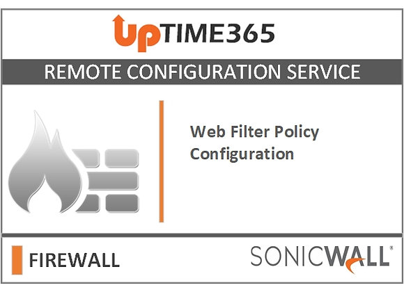 Web Filter Policy Configuration in SonicWall Firewall NSa 3600 Series