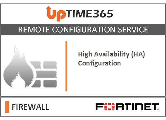 High Availability (HA) Configuration For Fortinet Firewall