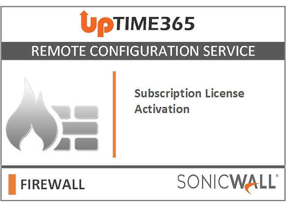 SonicWall Firewall Subscription License Activation