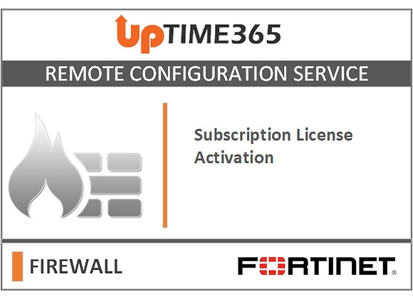 Fortinet Firewall Subscription License Activation