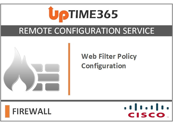 Web Filter Policy Configuration in Cisco Firewall  Firepower 1000 Series