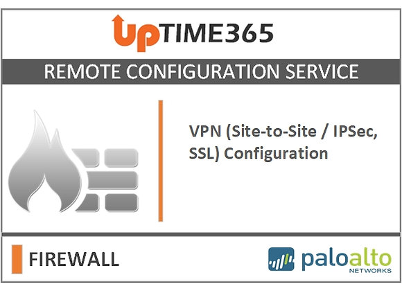 VPN (Site-to-Site / IPsec, SSL)  For Palo Alto Firewall Series PA7000