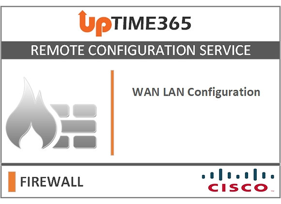 WAN LAN Configuration For Cisco Firewall