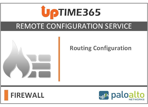 Routing Configuration For Palo Alto Firewall Series PA7000
