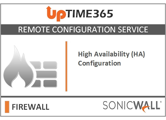 High Availability (HA) Configuration For SonicWall Firewall