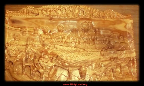 Olive wood Last Supper from Jerusalem