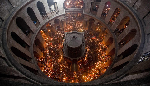 The Miracle of the Holy Fire | Church of the holy sepulture Jerusalem