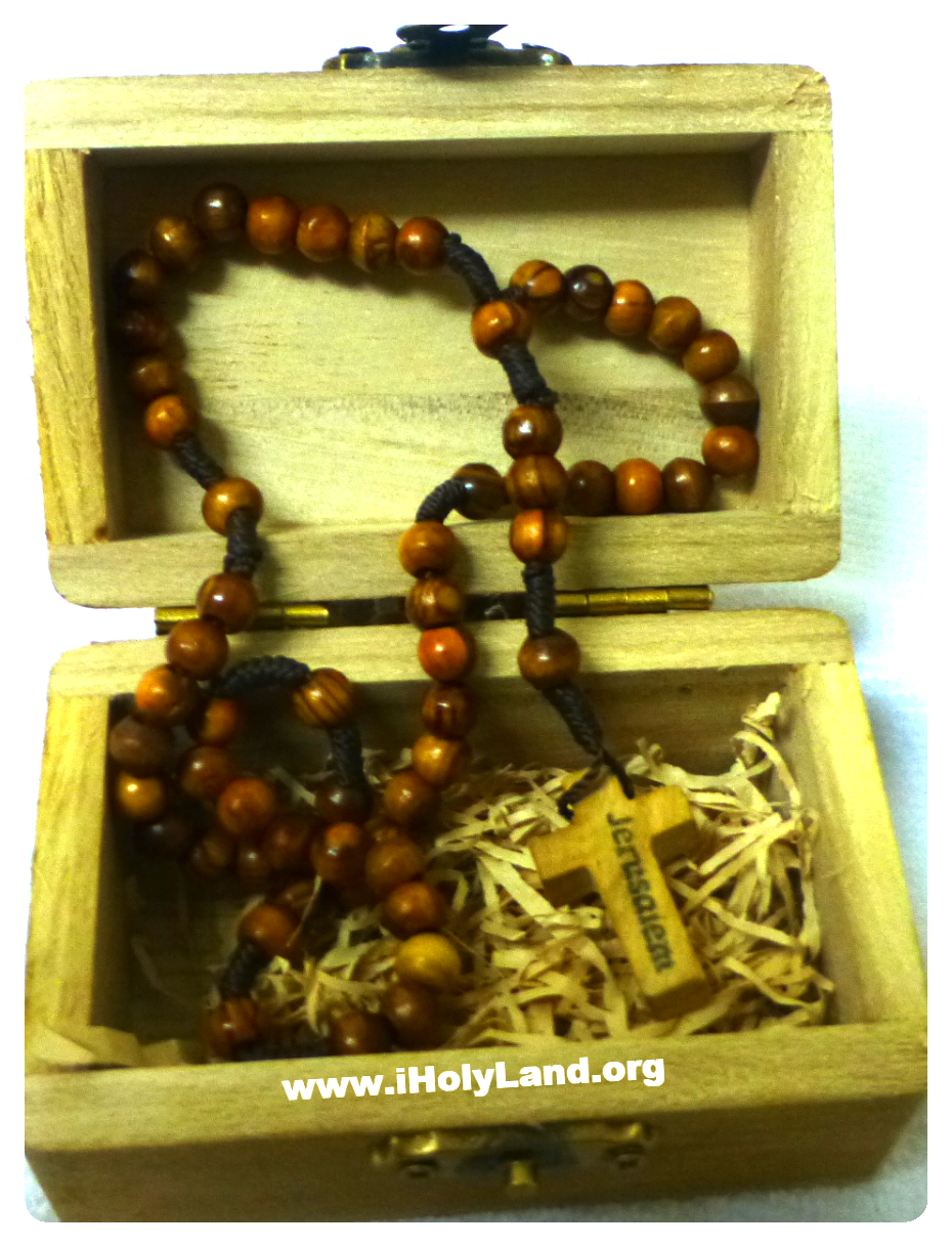 olive wood rosary with wood box_edited