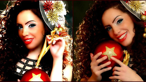"""Vivian Bishara-An Arab Singer From The Holy Land  Released The Arabic Version Of """"Silent Night&"""