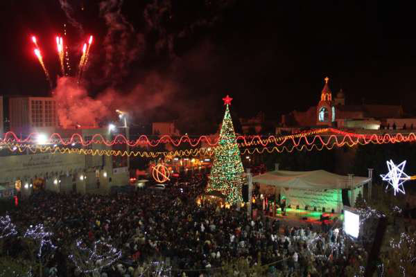 christmas tree holy land
