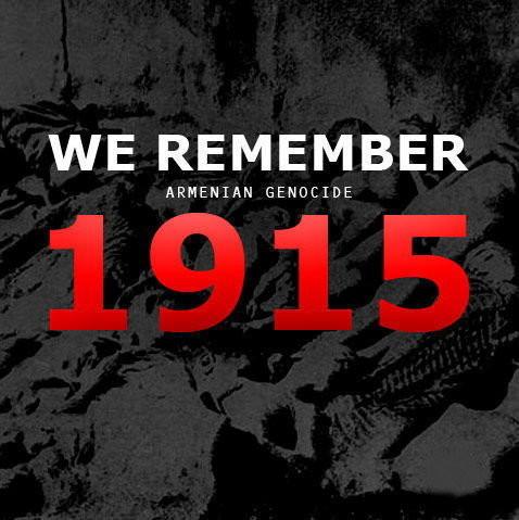 We remember Armenian genocide 1915