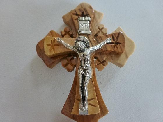 Jerusalem Cross Olive wood Holy Land