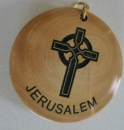 Jerusalem Key Chain