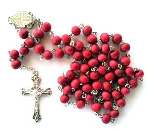 Jerusalem Rose Petals Rosary with Rosary box