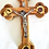 Thumbnail: Jerusalem Cross Olive wood Crucifix 14 staion-7""