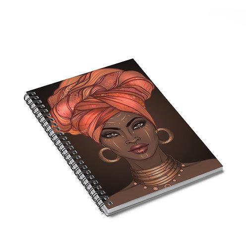 Goddess Gold Notebook