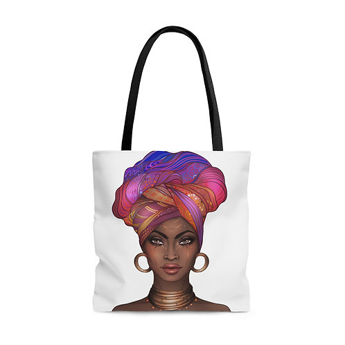 Colorful Goddess Tote Bag