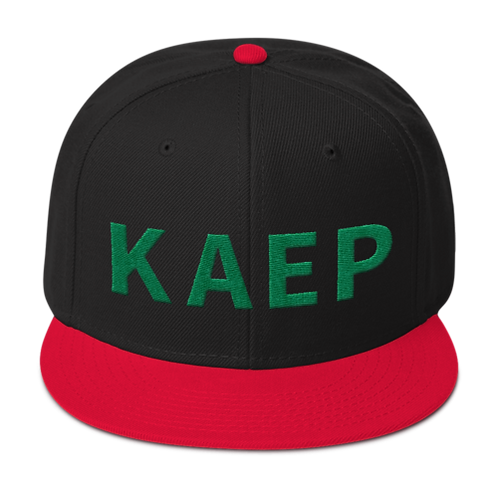 Kaepback Cap - Wool Blend Snapback (Several Color Options)