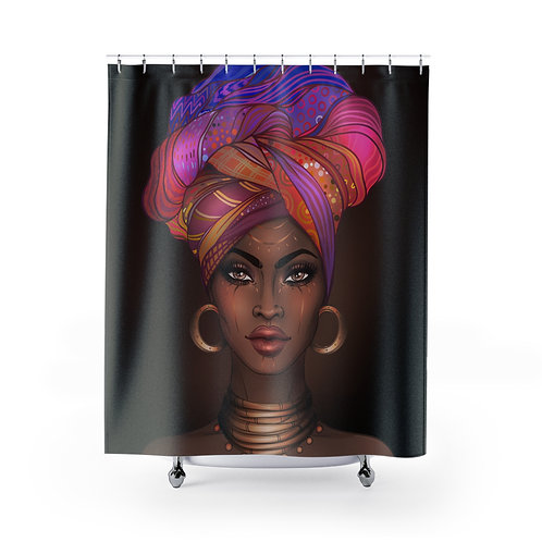 Goddess MultiColor Shower Curtain