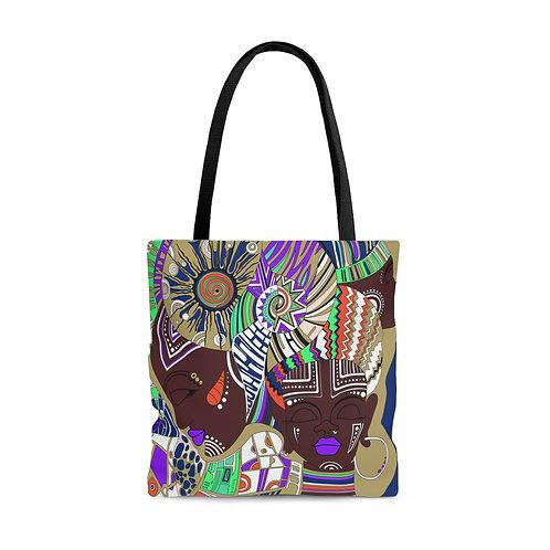 Melanin Vibes Tote Bag