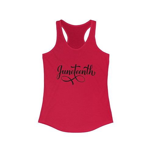 Juneteenth Women's Racerback Tank