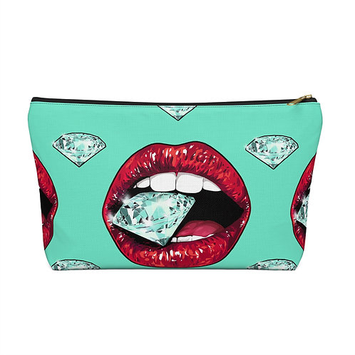 A Girl's Bestfriend Accessory Pouch/Make Up Bag