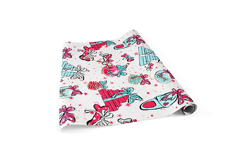 Doggy Wishes Wrapping Paper Sheets