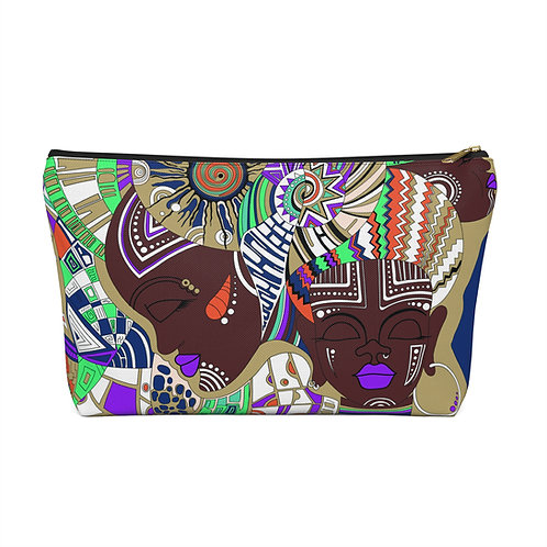 Melanin Vibes Accessory Pouch/Make Up Bag