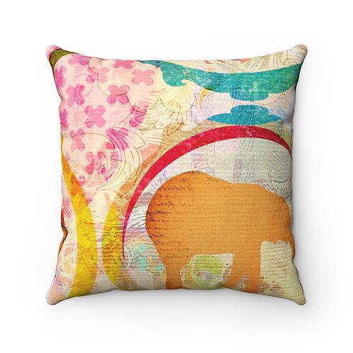 Color Safari Pillow