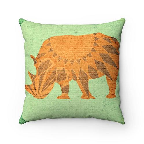 Green Safari Pillow