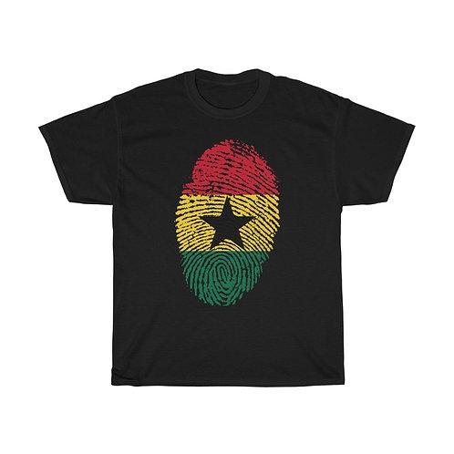 Ghanaian Identity Unisex Heavy Cotton Tee