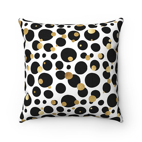 Goldie Dots Pillow