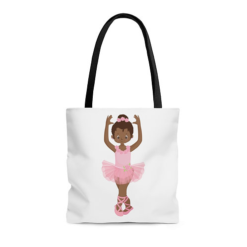 Ballerina Beauty Tote Bag