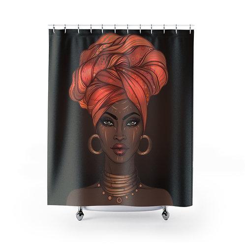 Goddess Gold Shower Curtain