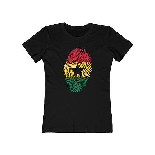 Ghanaian Identity Women's The Boyfriend Tee
