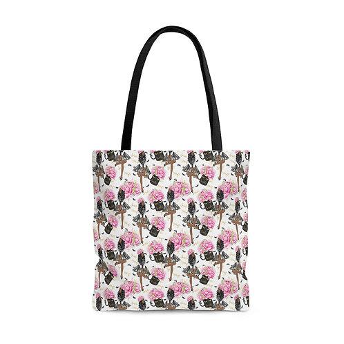 Smile Girl Tote Bag