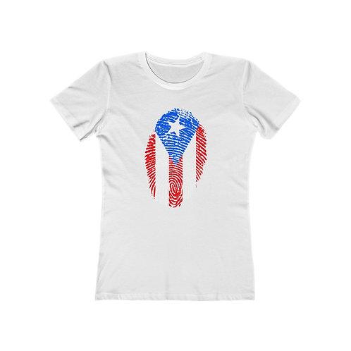 Puerto Rican Identity Women's The Boyfriend Tee