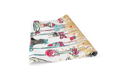 Gifted Dogs Wrapping Paper Sheets
