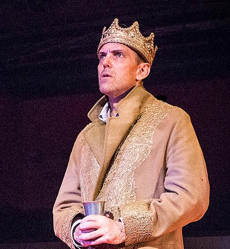 French King Charles in Henry V
