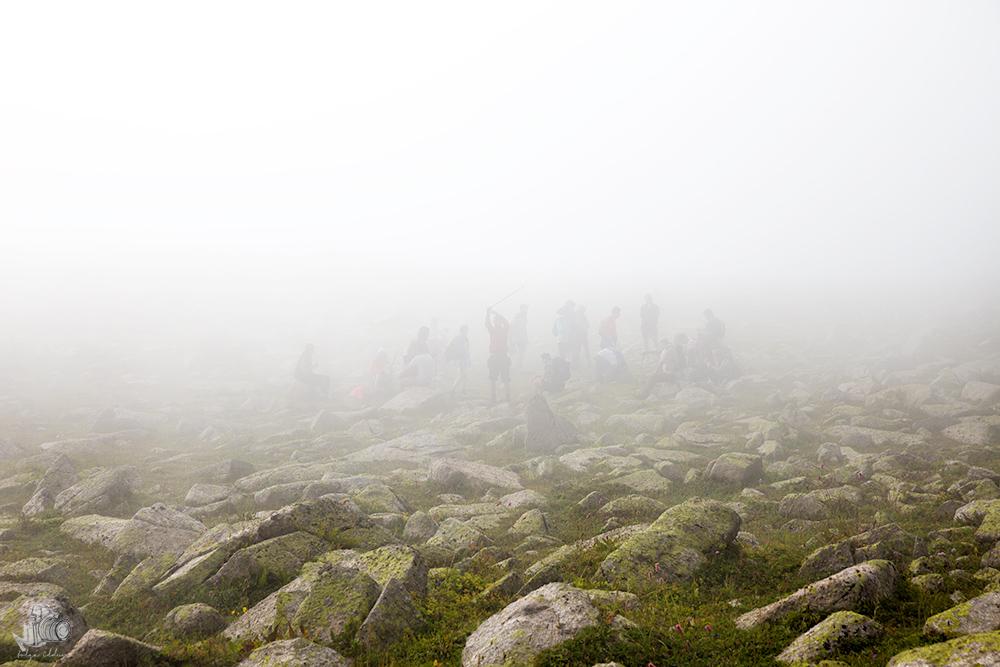 Kaçkarlarda sis