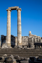 Hystorical column of Apollo ancient city