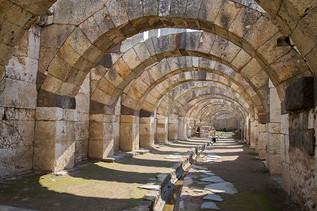 Agora of Smyrna from 4th century BC Izmi
